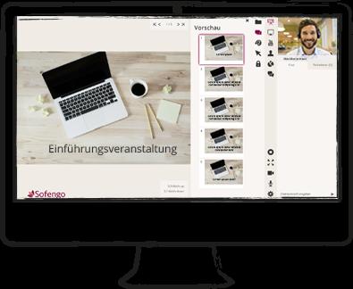 Sofengo webinar room