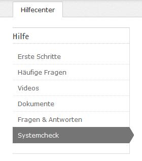 Systemcheck